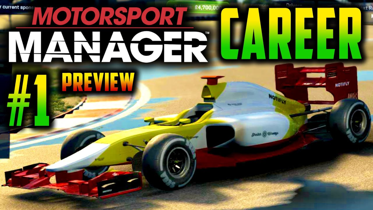 motorsport manager pc gameplay career part 1 in depth preview my first race youtube. Black Bedroom Furniture Sets. Home Design Ideas