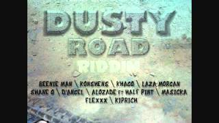 ALOZADE FT. HALF PINT - BADNESS (DUSTY ROAD RIDDIM) APRIL 2012