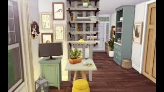 Comfortable Tiny Studio | Speed Build | Les Sims 4