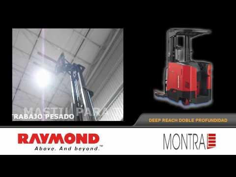 Montacargas Raymond Forklift Deep Reach Doble Profundidad De Montra