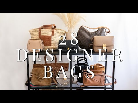 Designer Bag Collection 2019 I Chanel, Celine, Gucci, LV & More
