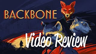 Backbone Review - Vancouver in Flashbulbs and Fur (Video Game Video Review)