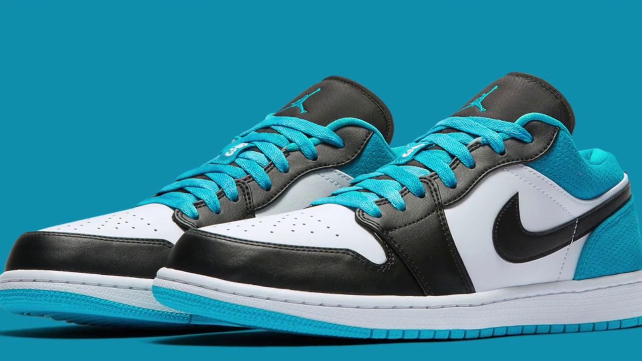 Air Jordan 1 Low Se Laser Blue Youtube