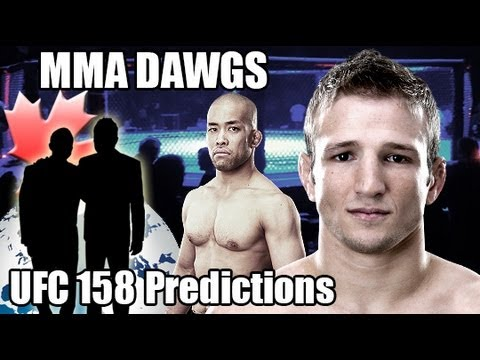 Ufc 158 betting predictions site