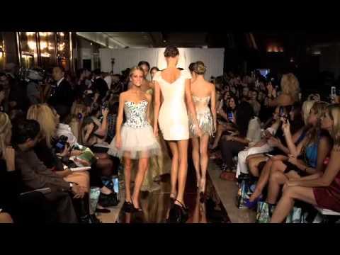 2011 Miss China LUO ZILIN @ Sherri Hill Runway Fashion Show 2011920