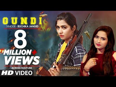"Ruchika Jangid ""GUNDI"" Latest Haryanvi Video Song Feat. Sonika Singh, Aashu Malik Haryanvi 2019"