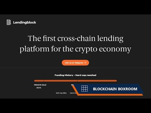 Lendingblock - The first cross-chain lending platform for the crypto economy!