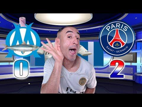 MARSEILLE 0-2 PARIS SG - Azéd Stories