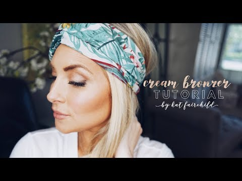 Maskcara Beauty tutorial using Bella Cream Bronzer