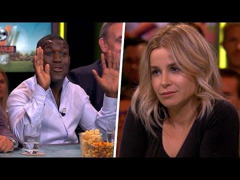 Royston Drenthe tegen Victoria Koblenko: ''Rustig, ik luister alleen'' - VI ORANJE BLIJFT THUIS
