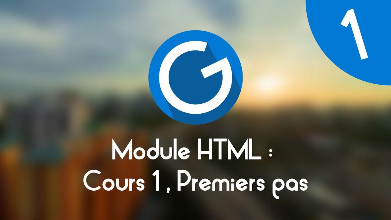 Download Formation IMM - Module HTML : Cours tuto 1 , premiers pas