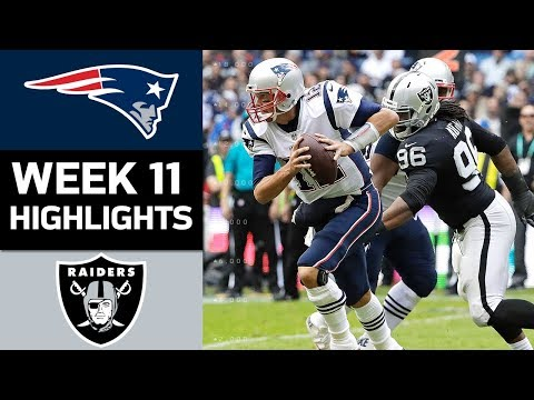 Patriots vs. Raiders | NFL Wee oakland raiders