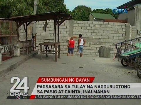 24 Oras: Pagsasara sa tulay na nagdurugtong sa Pasig at Cainta, inalmahan