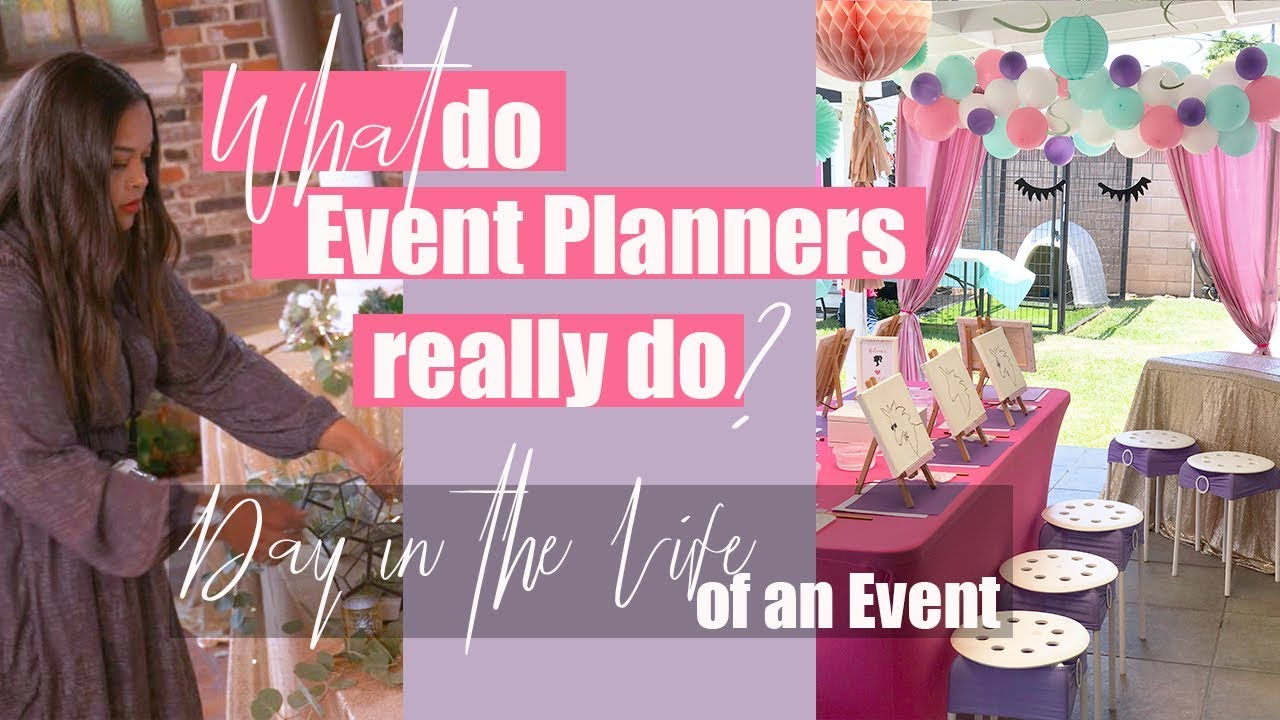 Download What do Event Planners Do? - Event Planner Day in the Life ll Miss Event Planner