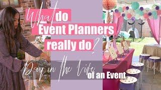 What do Event Planners Do? - Event Planner Day in the Life ll Miss Event Planner