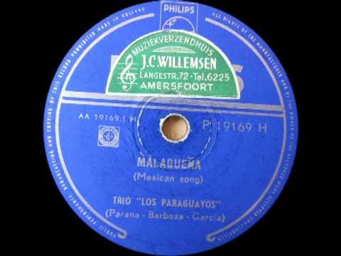 Trio Los Paraguayos - Malaguena (Mexican Song)
