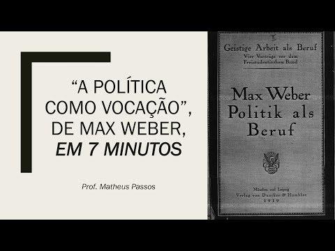 A política como vocação em 7 Minutos