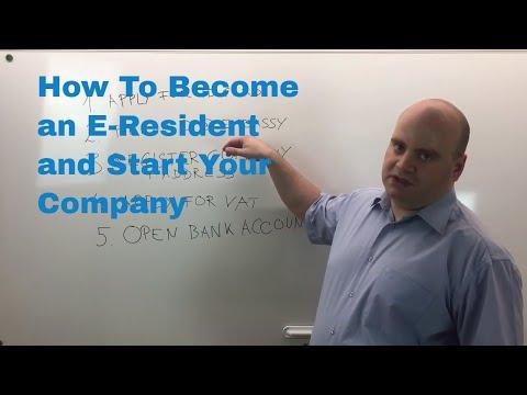 How to Become Estonian E-Resident