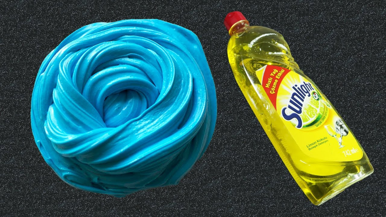 How to make nice easiest slime fluffy without shaving foam or glue