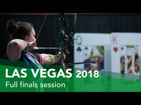 Live: Gold medal matches |Las Vegas 2018 Indoor Archery World Cup Finals
