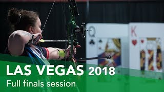 Live: Gold Medal Matches | Las Vegas 2018 Indoor Archery World Cup Finals
