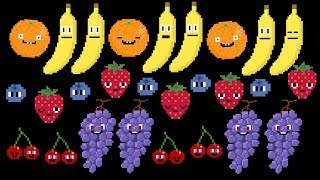 Fruit Patterns - ABAB Patterns & More -  The Kids' Picture Show (Fun & Educational Learning Video)