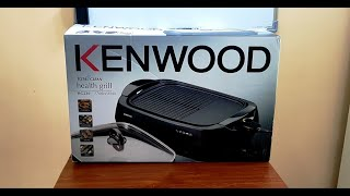 kenwood health grill hg230 unboxing