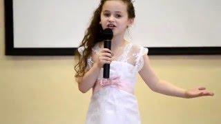 """Вокальный конкурс """"Голос-дети"""". Шелопаева Ксения."""