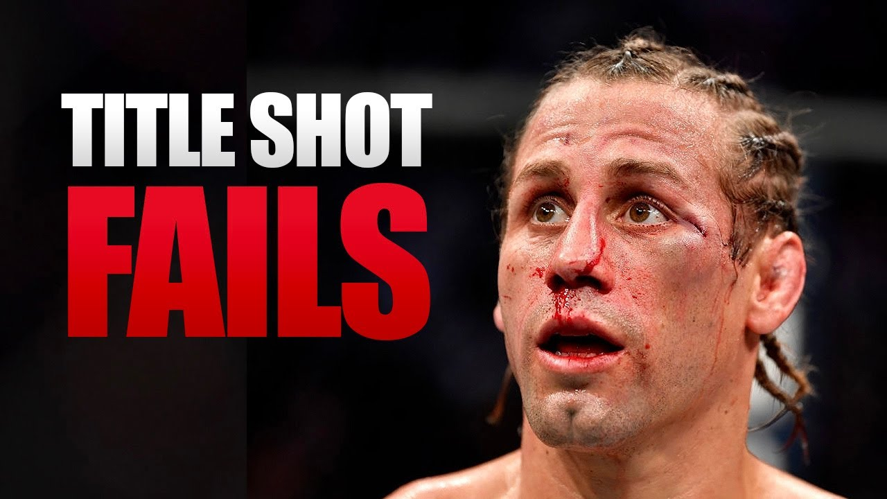 10 Fighters Who Repeatedly Failed to Win a UFC Title (Most Title Fight Losses)