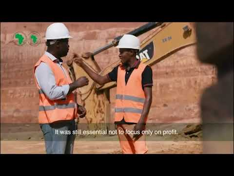 How has AfDB's DRC Numba Ya Akiba Cement Plant project benefited the  community?