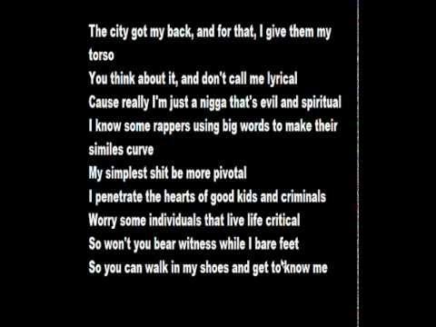 Kendrick Lamar (feat. GLC) - Poe Mans Dream (His Vice) (Lyrics on Screen)