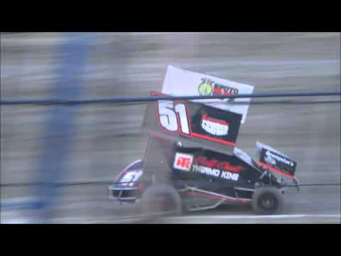 East Bay Raceway Park | Mini Sprints | Heat Race |  4-23-16