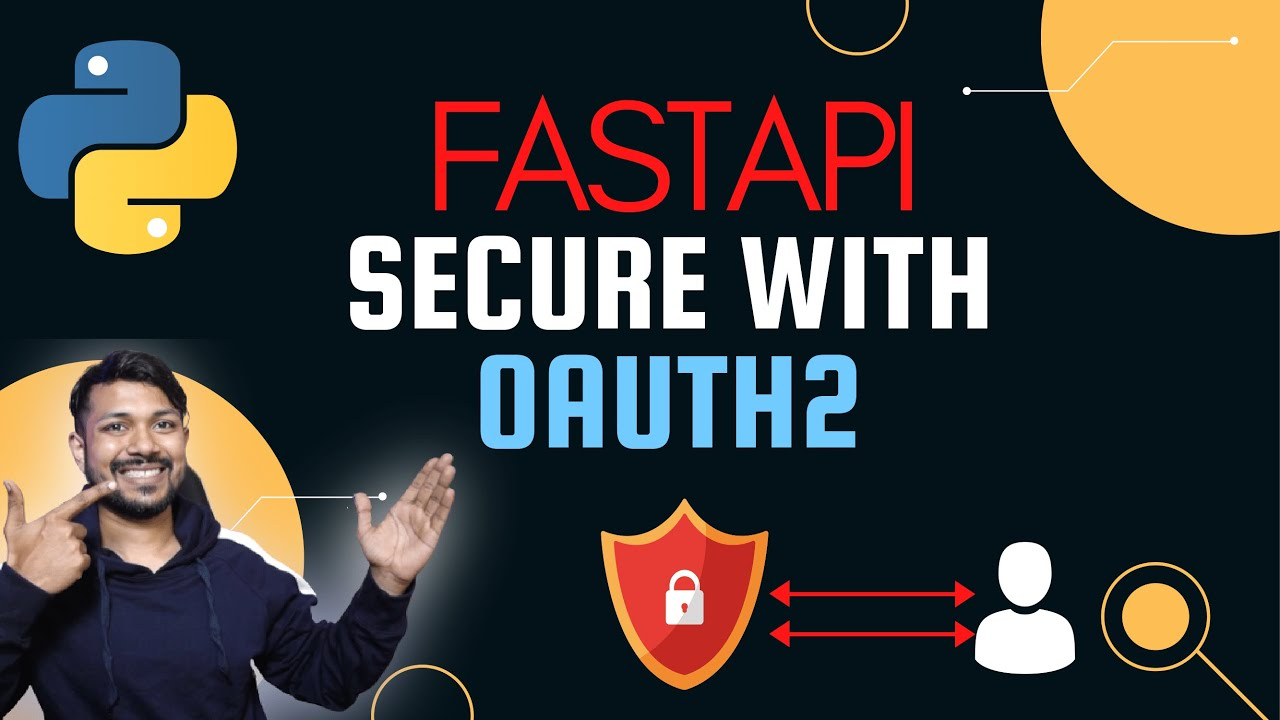 Python FastAPI Secure your service with OAuth2 easily