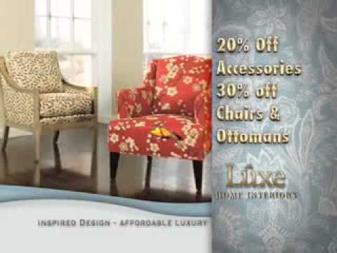 "Luxe Home Interiors - ""Luxe - Chairs"" - TV Spot"