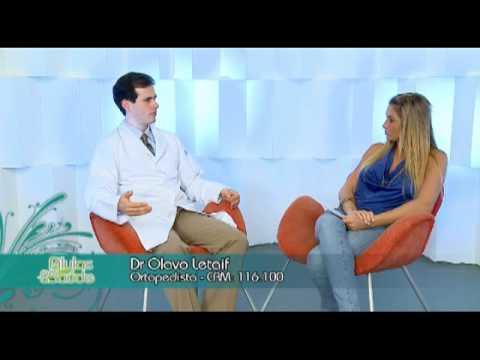 Ortopedista falando de hérnia de disco