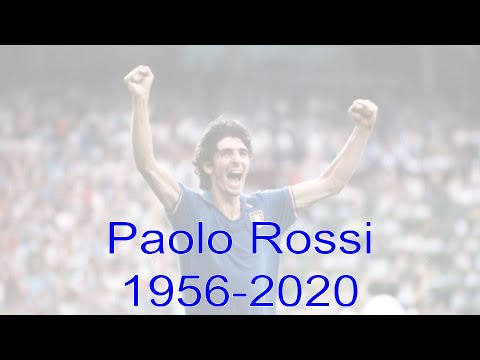 The life and times of Paolo Rossi (1956 - 2020)