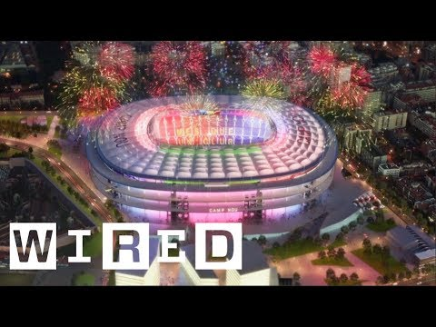 inside barcelona s ambitious plan to renovate the camp nou stadium wired with audi youtube inside barcelona s ambitious plan to renovate the camp nou stadium wired with audi