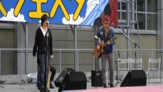 神奈川大学の弾き語りサークル(folks)の学園祭、2013年神大フェスタで...