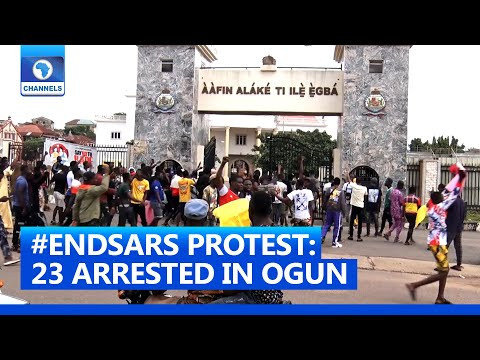 #ENDSARS Campaign: Youths Protest Demand End To SARS Operations