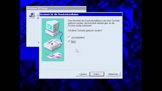 Windows 95 Installation (OS/Grafiktreiber/Internet Browser)