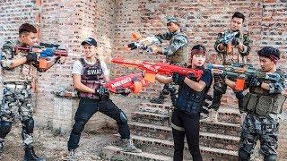 LTT Nerf War : Special Police SEAL X Warriors Nerf Guns Fight Dr Lee Crime Stealing Weapon