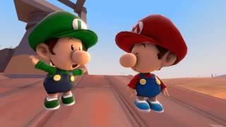 Baby Mario Plays Hide and Seek