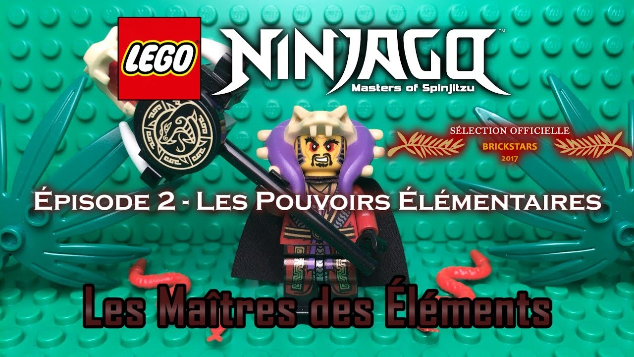 Lego Ninjago The Masters Of Elements Episode 2 The Elemental Powers