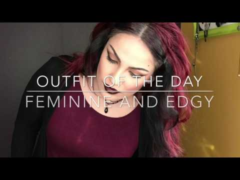 Outfit of the day | ootd! Feminine and Edgy!
