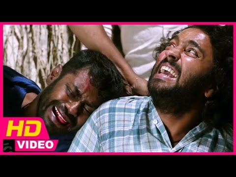 kayal-tamil-movie---chandran-and-vincent-are-beaten-up