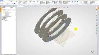 Развёртка геликоидов(шнеков) в T FLEX CAD