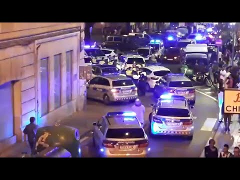 Tres detenidos en Bilbao tras una pelea multitudinaria