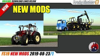 FS19 | New Mods (2019-08-23/1) - review