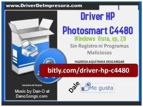 C4480 HP PHOTOSMART DRIVER IMPRESSORA BAIXAR GRATIS
