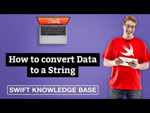 How to convert Data to a String - free Swift 5 0 example code and tips